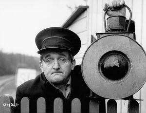Graham Stark in Jan Darnley-Smith's Runaway Railway (1965)