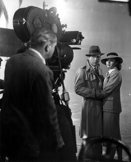 Humphrey Bogart and Ingrid Bergman in Michael Curtiz's Casablanca (1942)