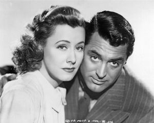 Irene Dunne and Cary Grant in Leo McCarey's The Awful Truth (1937)