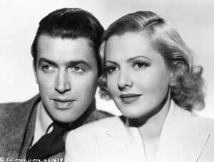 James Stewart and Jean Arthur in Frank Capra's Mr Smith Goes to Washington (1939)