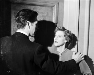 John Bentley and Rona Anderson in John Guillermin's Torment (1949)