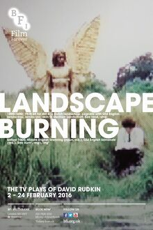 Poster for Landscape Burning (The TV Plays of David Rudkin) at BFI Southbank (2-24