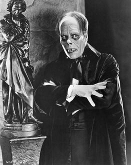 Lon Chaney in Rupert Julian's The Phantom of the Opera (1925)