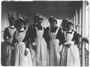 Maid Servants, 1901