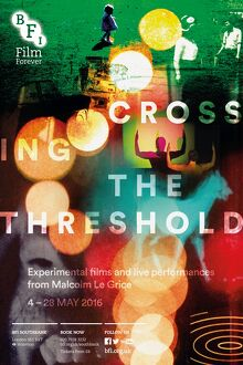 Poster for Crossing the Threshold (Experimental Films and Live Performances