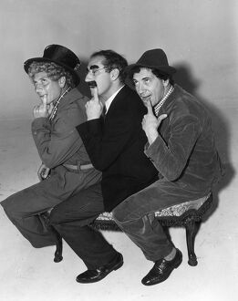 The Marx Brothers in Sam Wood's A Day at the Races (1937)