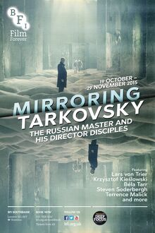 Poster for Mirroring Tarkovsky (The Russian Master and his Director Disciples) at BFI Southbank