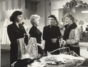 Patricia Plunkett, Vera Day, Freda Jackson and Dora Bryan in John Guillerman's The Crowded Day (1954)