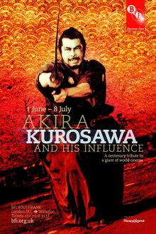Poster for Akira Kurosawa Season at BFI Southbank (1 Jun - 8 Jul 2010)