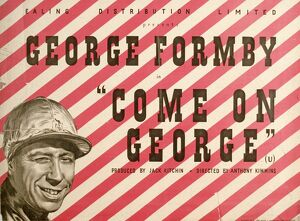 Poster for Anthony Kimmins' Come On George! (1939)