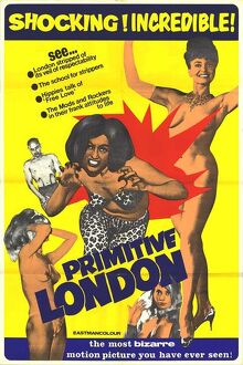 Poster for Arnold Louise Miller's Primitive London (1965)