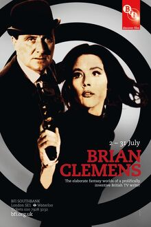Poster for Brian Clemens Season at BFI Southbank (2 - 31 July 2010)