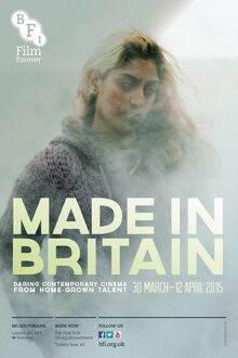 Poster for Made In Britain Season at BFI Southbank (30 March - 12 April 2015)