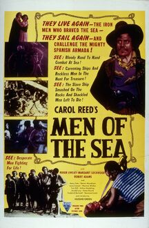Poster for Carol Reed's Men of the Sea (1935)