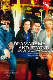 Poster for Dramarama And Beyond Season at BFI Southbank (11-30 April 2011)