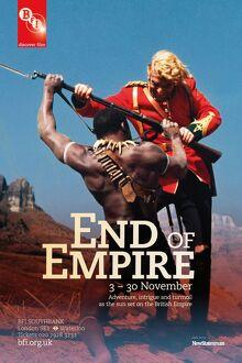 Poster for End Of Empire Season at BFI Southbank (3 - 30 Nov 2011)