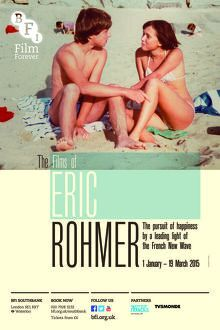 Poster for The Films Of Eric Rhomer Season at BFI Southbank (1 January - 19 March 2015)