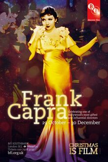Poster for Frank Capra Season at BFI Southbank (29 October - 30 December 2010)
