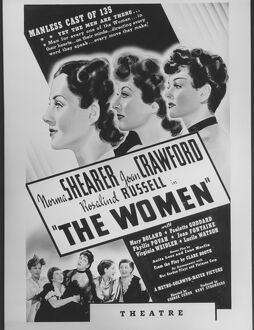 Poster for George Cukor's The Women (1939)