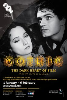 Poster for Gothic The Dark Heart Of Film Poster at BFI Southbank (1 January - 6 February 2014)