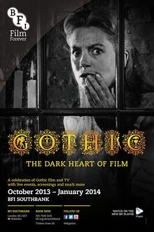 Poster for GOTHIC (The Dark Heart Of Film) Season at BFI Southbank (October 2013