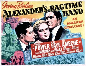 Poster for Henry King's Alexander's Ragtime Band (1938)