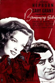 Poster for Howard Hawk's Bringing Up Baby (1938)