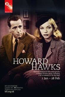 Poster for Howard Hawks Season at BFI Southbank (1 Jan - 28 Feb 2011)