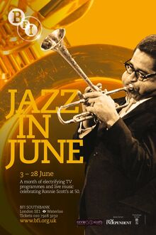 Poster for Jazz in June Season at BFI Southbank (3 - 28 June 2009)