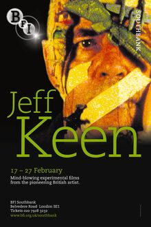 Poster for Jeff Keen season at BFI Southbank (17 - 27 February 2009)