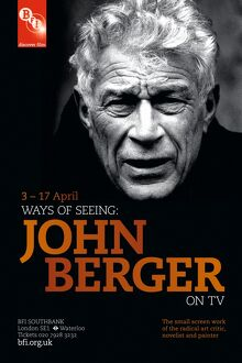 Poster for John Berger Season at BFI Southbank (1 - 17 April Feb 2012)