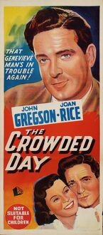 Poster for John Guillermin's The Crowded Day (1954)