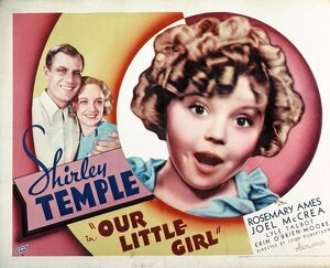 Poster for John S Robertson's Our Little Girl (1935)