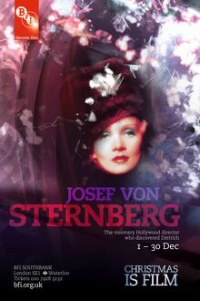 Poster for Josef Von Sternberg season at BFI Southbank (1 - 30 December 2009)