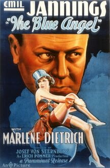 Poster for Josef von Sternberg's Blue Angel (1930)
