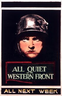 Poster for Lewis Milestone's All Quiet On The Western Front (1930)