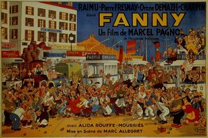Poster for Marc Allegret's Fanny (1932)