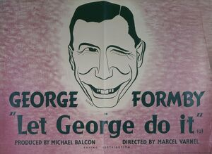 Poster for Marcel Varnel's Let George Do It (1940)