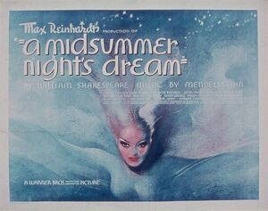 Poster for Max Reinhardt's A Midsummer Night's Dream (1935)