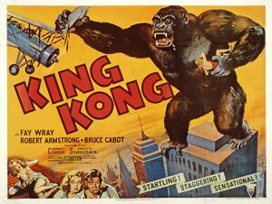poster merian c coopers king kong 1933