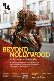 Poster for Beyond Nollywood Weekend at BFI Southbank (20-21 September 2014)