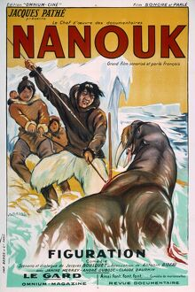 Poster for Robert Flaherty's Nanook of the North (1922)