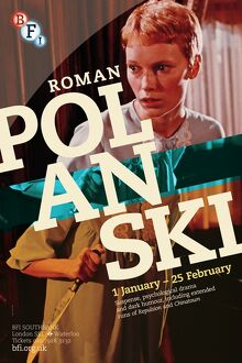 Poster for Roman Polanski Season at BFI Southbank (1 January - 25 February 2013)