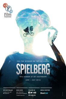 Poster for SPIELBERG Season at BFI Southbank (June - July 1016)