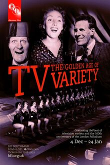 Poster for TV: The Golden Age of Variety Season at BFI Southbank (4 Dec - 24 January