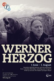 Poster for Werner Herzog Season at BFI Southbank (1 June - 1 August 2013)