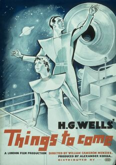 Poster for William Cameron Menzies' Things to Come (1936)