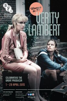 Poster for Women On TV (Verity Lambert) Season at BFI Southbank (1 - 29 April 2015)