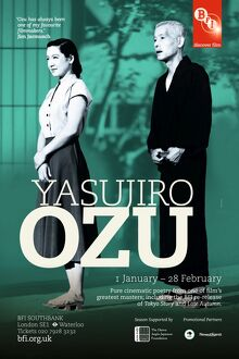 Poster for Yasujiro Ozu Season at BFI Southbank (1 January - 28 February 2010)