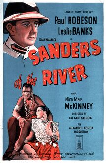 Poster for Zoltan Korda's Sanders of the River (1935)